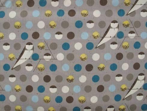 Organic cotton dress fabric