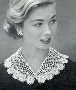 Beautiful Irish lace collar! Would look gorgeous with any dress. From 12 ways to dress Irish from Head to Toe