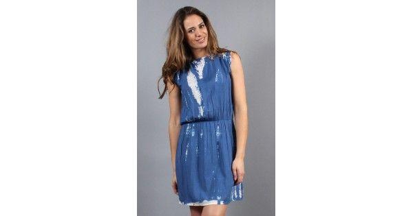 Φόρεμα αμάνικο Redsoul. Σύνθεση 100% rayon. e-funky.gr