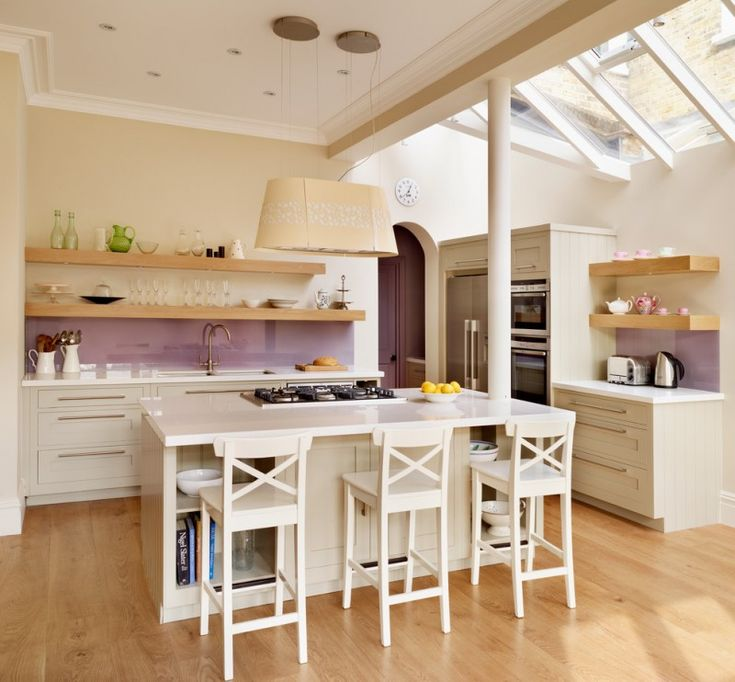 Open Concept Kitchen Shelves: 17 Best Ideas About Small Open Kitchens On Pinterest