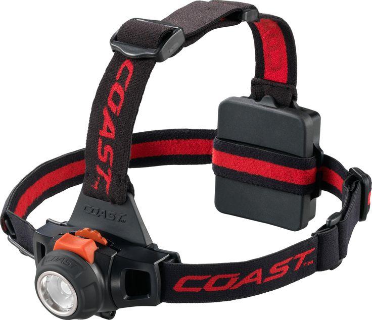 Coast HL27 Focusing Headlamp | 309 Lumens | 122 Metre Beam throw