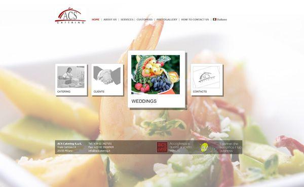 ideas ejemplos diseño hacer crear pagina web empresa catering gourmet gastronomia alta cocina