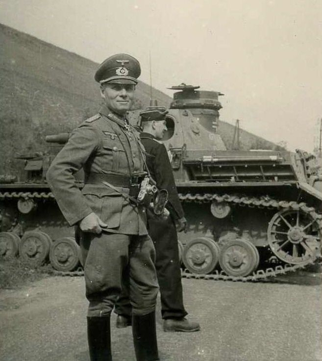 Erwin Rommel. Soldiers captured during his Africa campaign were reported to have been treated humanely. Rommel was linked to the conspiracy to assassinate Hitler. Hitler forced Rommel to commit suicide with a cyanide pill, in return for assurances that Rommel's family would not be persecuted. He was given a state funeral, & his death was said to be a heart attack, following a car crash.