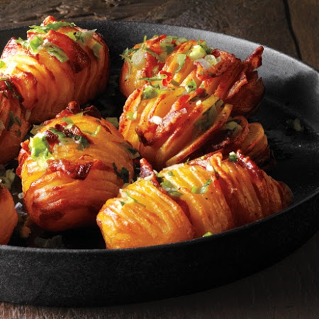 Bacon Hasselback Potatoes Recipe   Key Ingredient