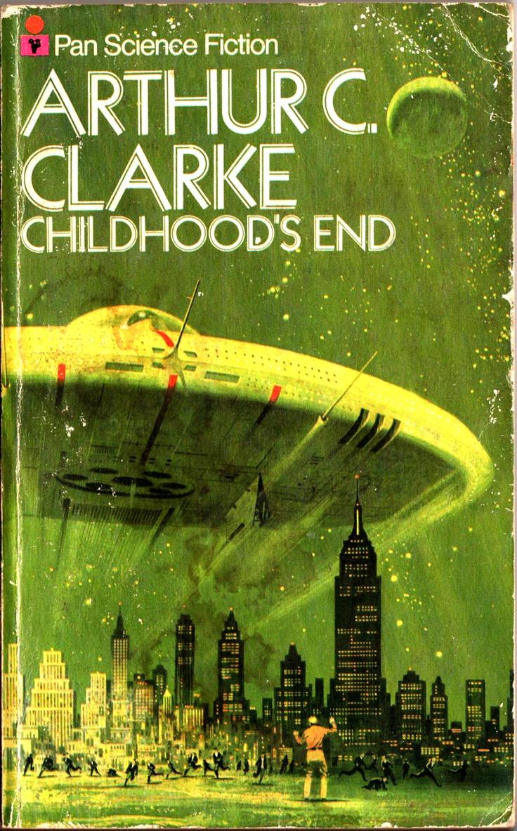 """""""O fim da infância"""", ficção científica de Arthur C. Clarke. Gostei muito. Aliens e existencialismo."""