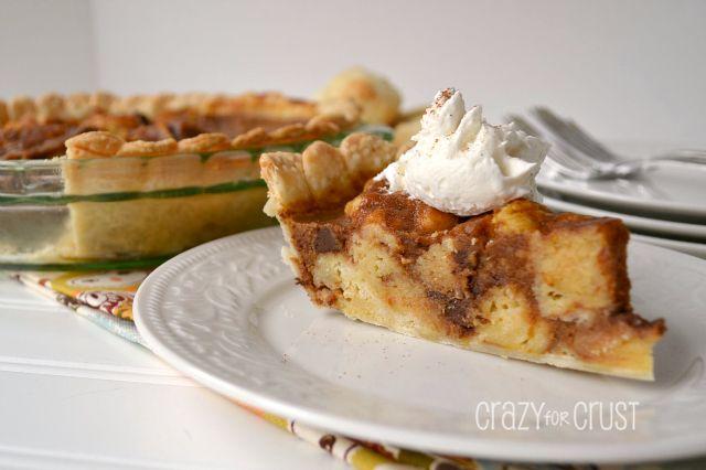Pumpkin Bread Pudding Pie | Recipe