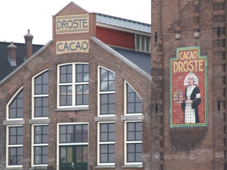 Droste-chocolate factory.  The Willy-Wonka of Holland.