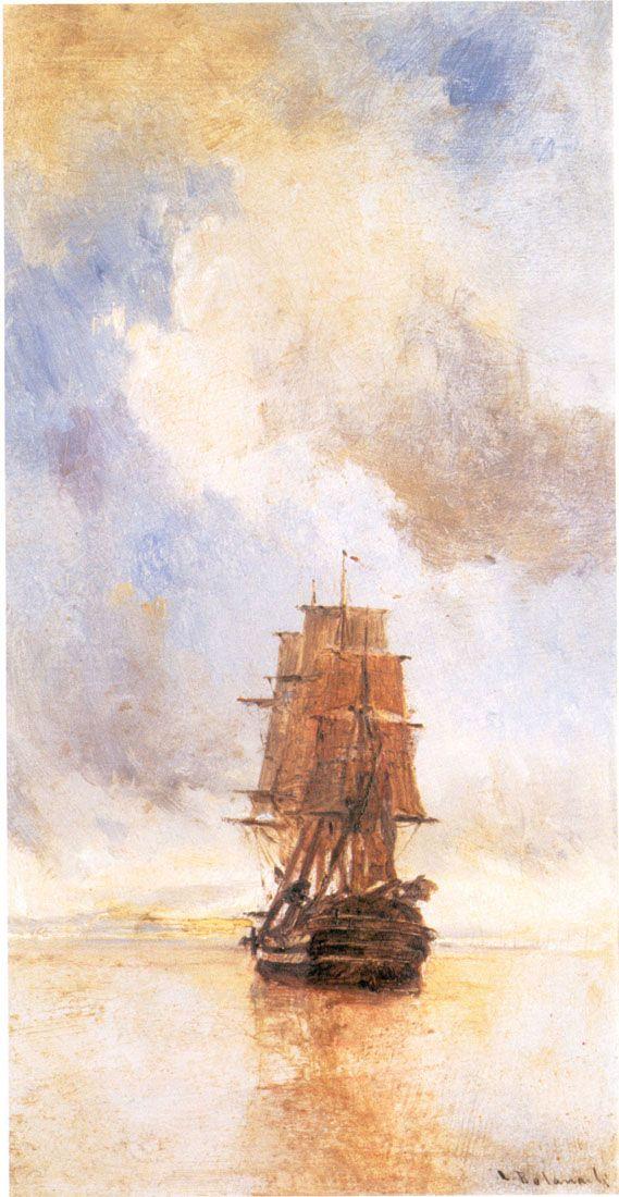 Greek artistic painter Konstantinos Volanakis Paintings
