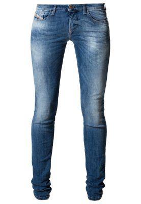 SKINZEE LOW - Slim fit -farkut - sininen