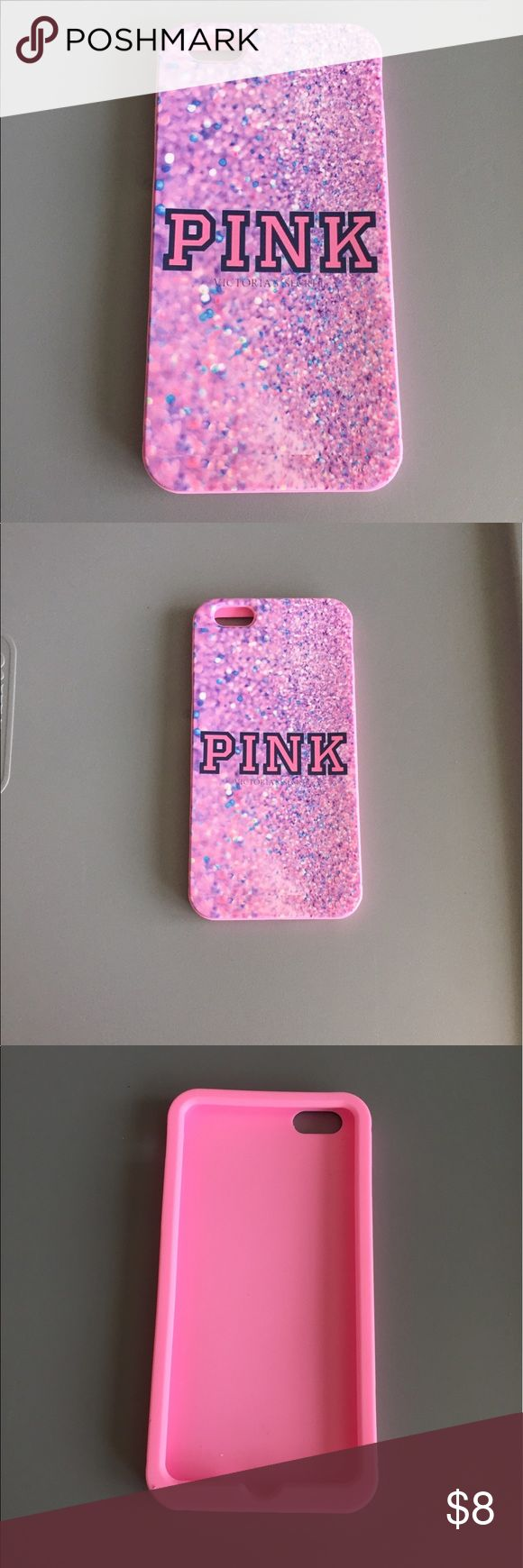 iPhone 6 Plus/6s Plus Victoria's Secret pink case Brand new iPhone 6 Plus /6s plus (fits both) Victoria's Secret PINK. Case! This is a silicone case that will protect your phones edges/back from being scratched. Does not protect screen. Perfect case all around! Comfortable feel and so cute! Best price! PINK Victoria's Secret Accessories Phone Cases