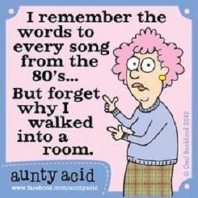 Am I getting old??? Hahaha!