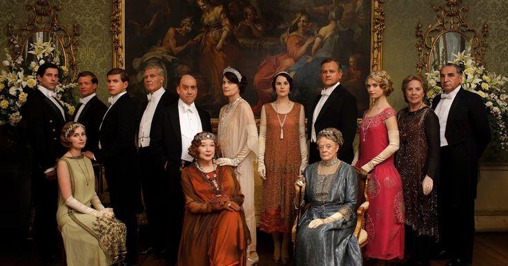 Cinque luoghi e dimore utilizzate nella serie tv Downton Abbey.