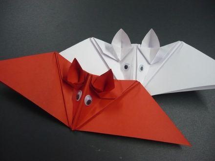 die besten 17 ideen zu fledermaus basteln auf pinterest origami batman und vorschul halloween. Black Bedroom Furniture Sets. Home Design Ideas