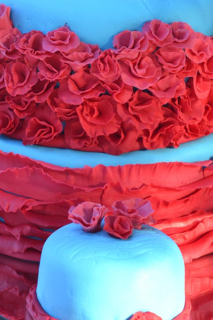 Torta decorada para bodas