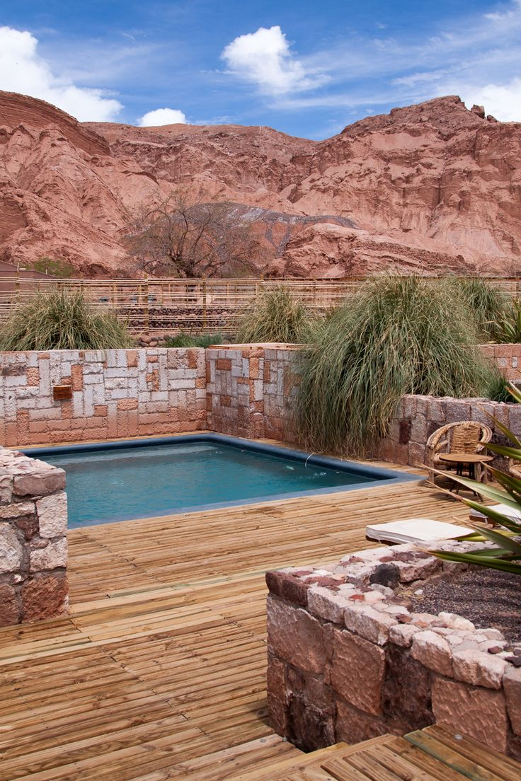 Alto Atacama Desert Lodge and Spa--please can i go here? please.