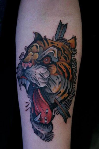 17 Best Images About Tiger Tattoos On Pinterest Tiger