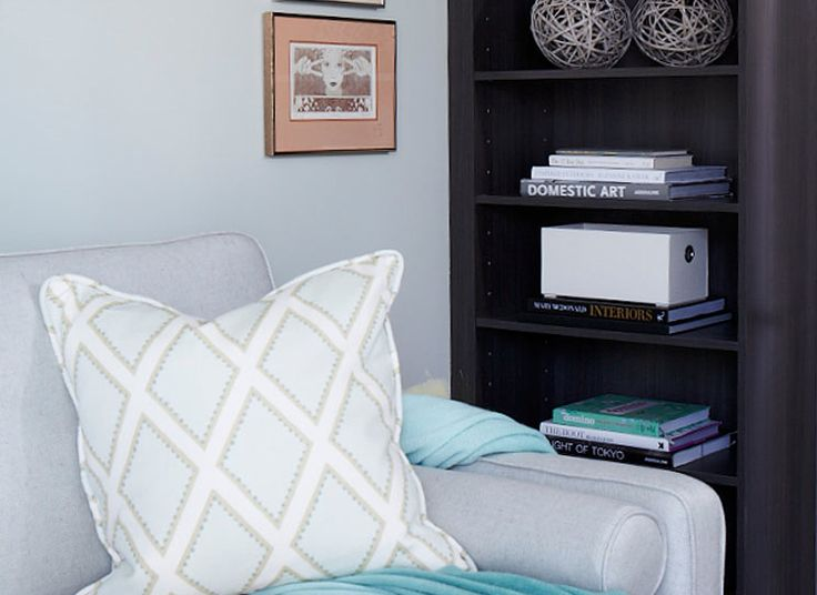 Comfy sofa & accent cushion