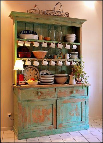 25 best Kitchen Hutch ideas on Pinterest Kitchen hutch redo
