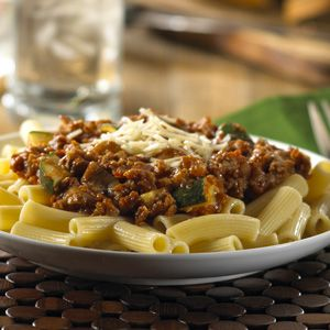 MorningStar Farms® Rigatoni Bolognese Recipe