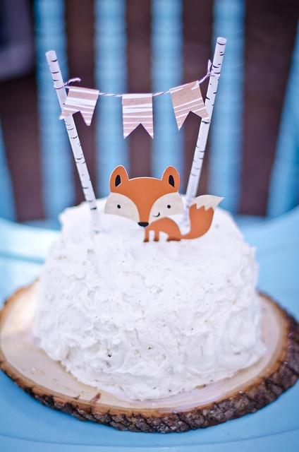 Kyler's Woodland First Birthday Party - Wildflower Blog ...