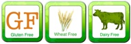 Entire web site of Gluten Free, Wheat Free and Dairy Free recipes!
