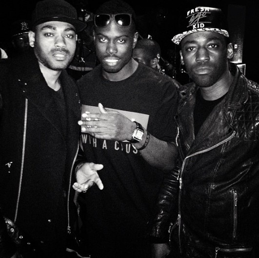 Kano, Ghetts and Bashy.