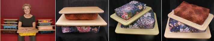 Handmade lap desk pretty enough to call art.