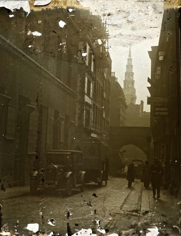 St Bride's Fleet St, c. 1920 London England