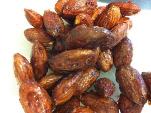 Caramelised Cinnamon Almonds