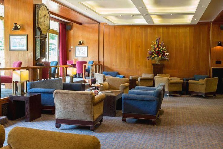 A view of the Britannia Bar at the Royal Thames Yacht Club