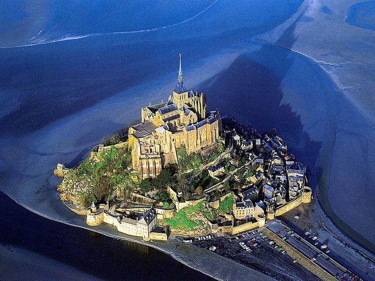 Mont St. Michel, France ~  What a blessing it was to spend a night there during the off season.  It was so peaceful that I could just imagine the refuge and place of reflection it must have been for monks who lived there after it was built it between the tenth and twelfth centuries.