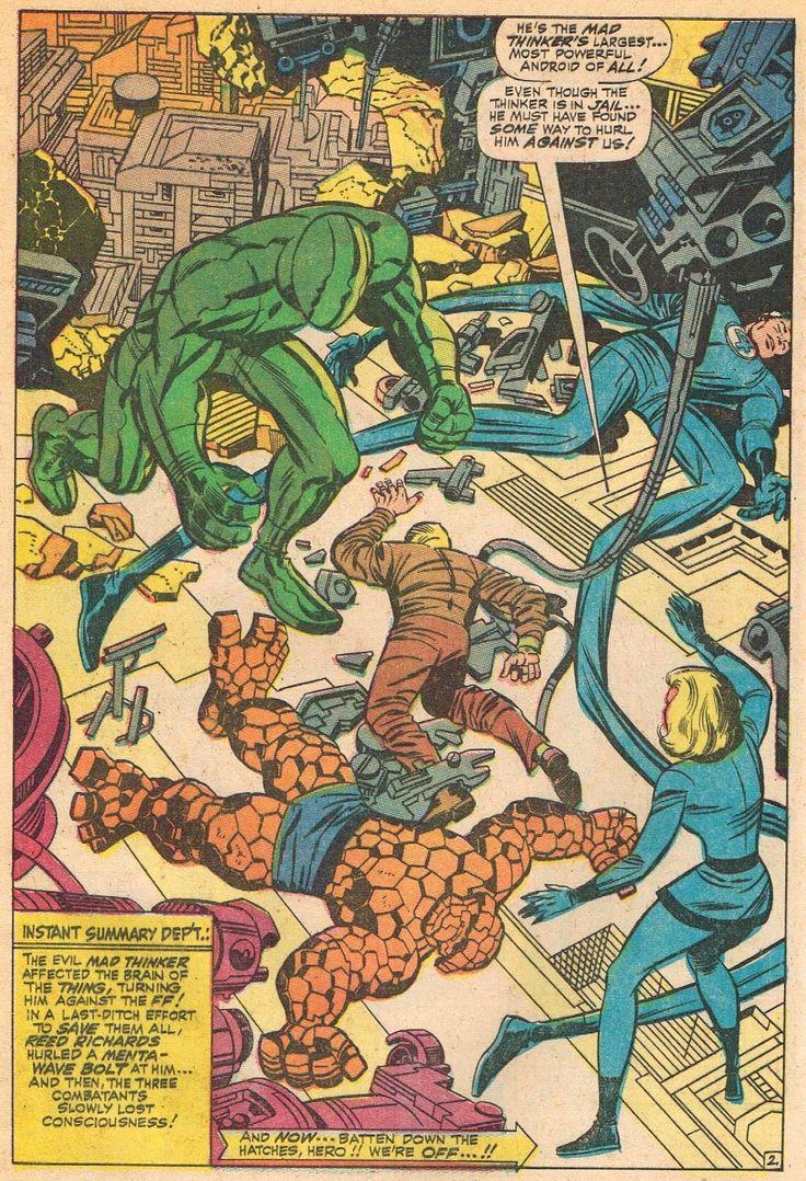 Cap'n's Comics: The Mad Thinker's Android by Jack Kirby