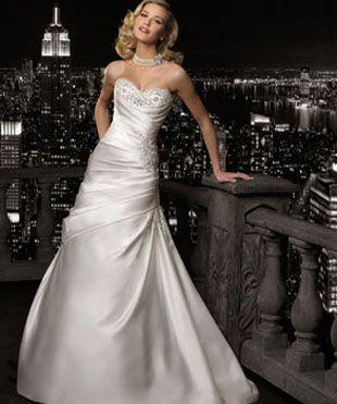 MGNY 2012 esküvői ruha