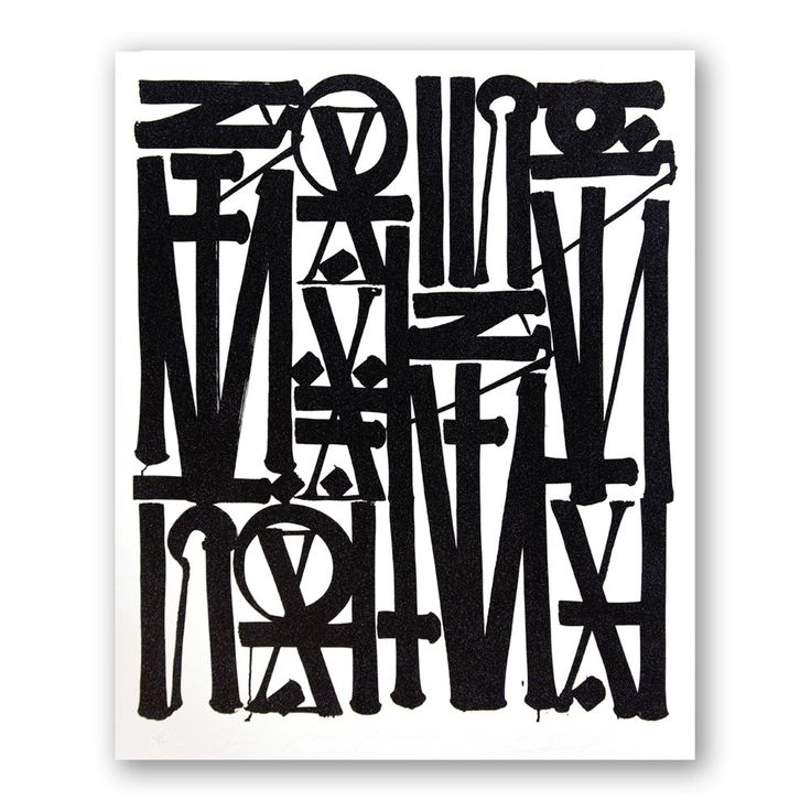 Astonishing Retna's lithograph Say My Name to be discovered here.