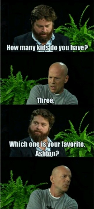 "Zach Galifianakis and his awkward, but hilarious, ""Between Two Ferns"" interviews"