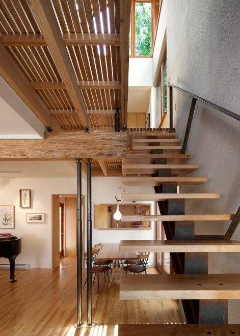 Bernier-Thibault Residence, designed by Paul Bernier Architecte, Montreal