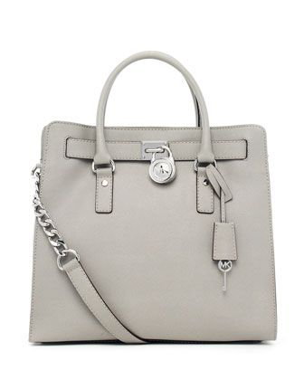 MICHAEL Michael Kors  Hamilton Large Tote. I want this but in the light blue color!