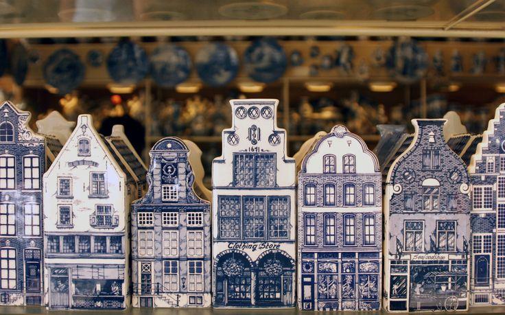 Delft Pottery Souvenirs Amsterdam
