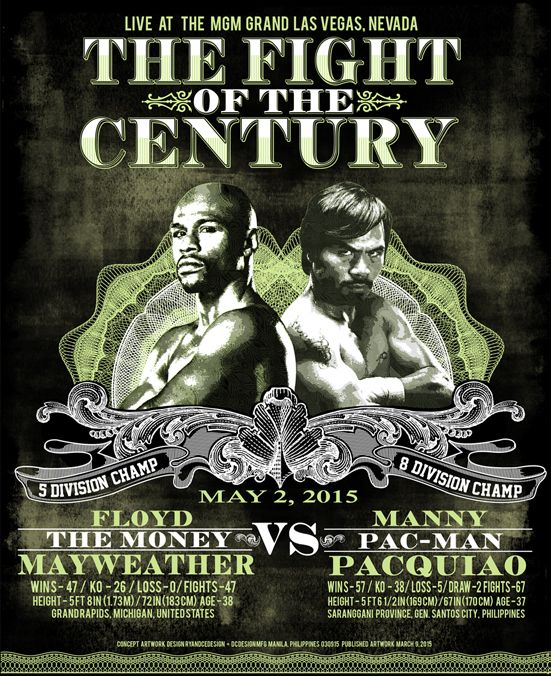 The Fight of the Century_Artwork DCdesignMNL