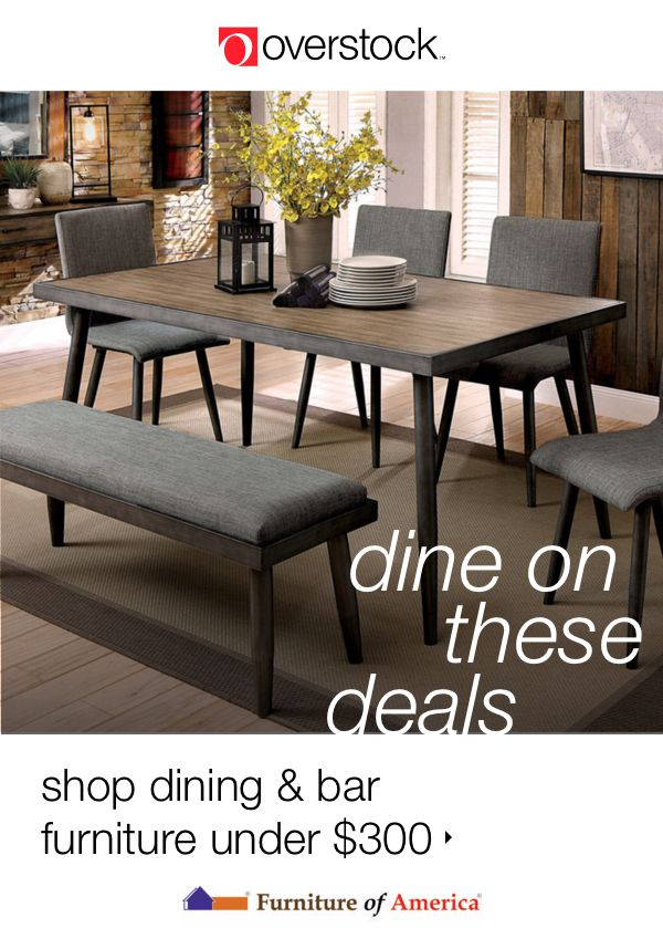 Find everything you need to give your dining room a refresh at Overstock.com. Shop dining tables, dining chairs, benches, buffets, and more new furniture from Furniture of America all at Overstock prices.