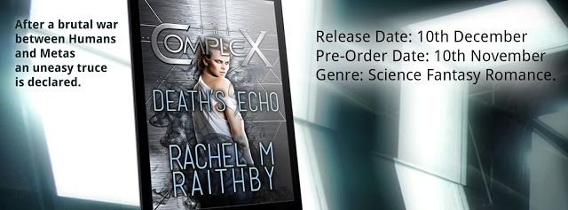 Reese's Reviews: Cover reveal - Deaths Echo by Rachel M Raithby
