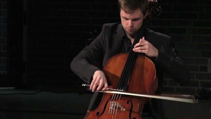 Johann Sebastian Bach, Chaconne, Partita Nr. 2 in d-moll,  BWV 1004 (bearbeitet für Violoncello) Peter Schmidt, Violoncello - Kamera: Kathrin Bingel, Christian Zwick Ton: Michael Hohnstock - (14:32) YouTube