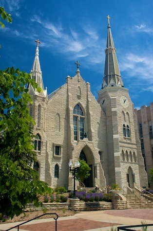 St. John's Church on the campus of Creighton University, Omaha, NE