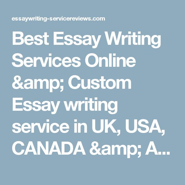 top rated essay writing service The all-american essay writing service is here to help essayusa  their professionalism is the very reason why we became the top rated essay writing service in.