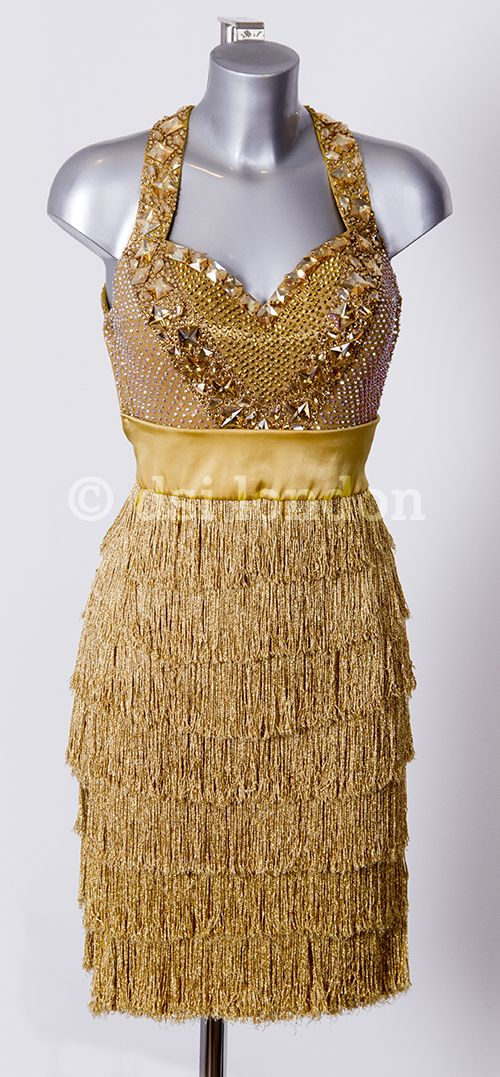 Brown Dancing Dress