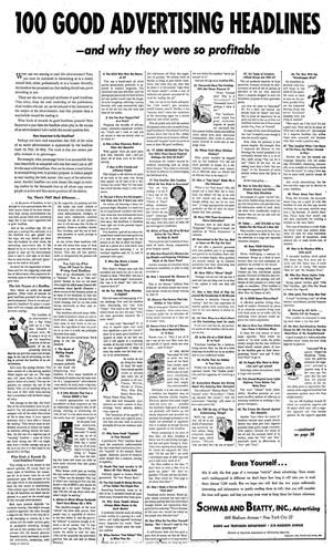 100 Good Headlines from long ago Guess what? People are still the same, and headlines are still vital, whether for an ad, a subject line for an email, a tweet, FB, or a sign for your consignment shop window! Click through for a transcript. Found for you by http://TGtbT.com, the Premier Site for Professional Resalers