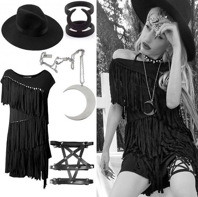 Outfit inspiration... Get it all from our webstore #outfitinspiration #outfitideas #killstar #rogueandwolf #altfashion #alternativefashion #alternativeclothing #gothfashion #gothicclothing #nugoth #goth #punk #grunge #rock #metal #pentagram #luna #moon #attitudeclothing