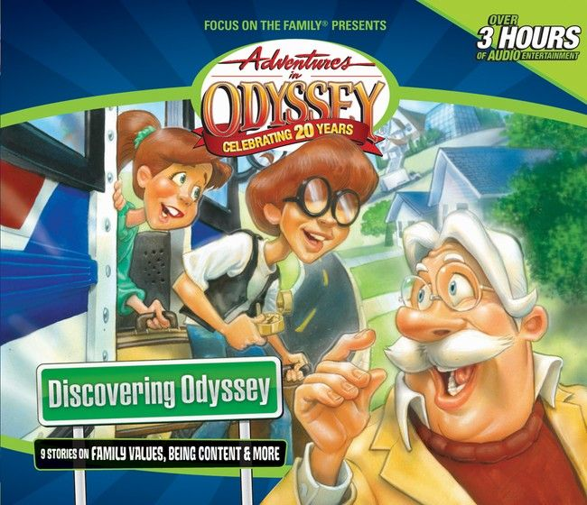 For twenty years, the folks of Odyssey have been entertaining, encouraging and teaching children of all ages biblical values. Now the next generation can get in on the fun with this 3-CD introductory set of nine foundational Adventures in Odyssey episodes.