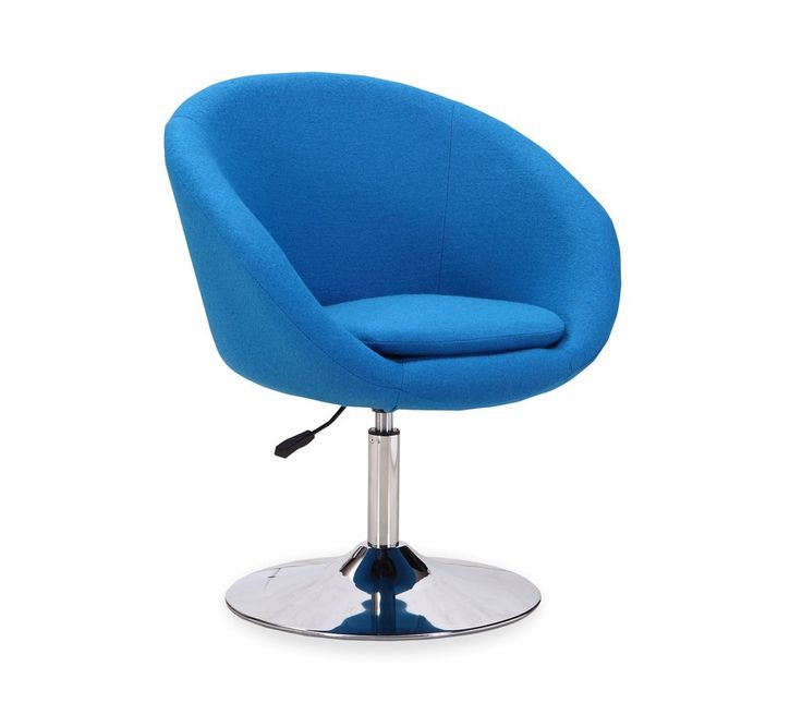 Adjustable Leisure Swivel Barrel Chair with Price : $ 183.99