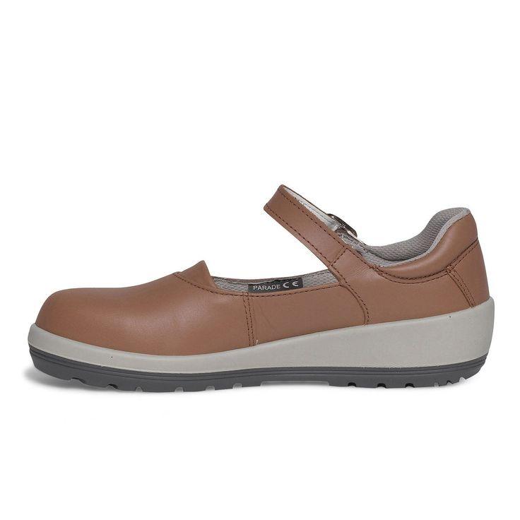 Chaussures femme basses PARADE Bianca, coloris brique T40